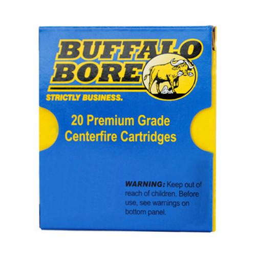 Buffalo Bore Ammunition 24C|20 9mm Luger +P+ 147 GR JHP 20 Bx| 12 Cs
