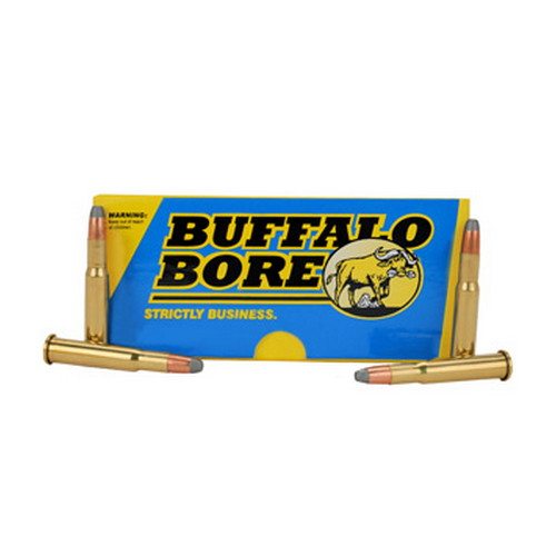 Buffalo Bore Ammo 28A|20 Rifle 30-30 Win Jacketed Flat Nose 190GR 20Box|12Case