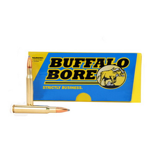 Buffalo Bore Ammo 40A|20 30-06 Springfield Spitzer Supercharged 150GR 20Bx|12Cs
