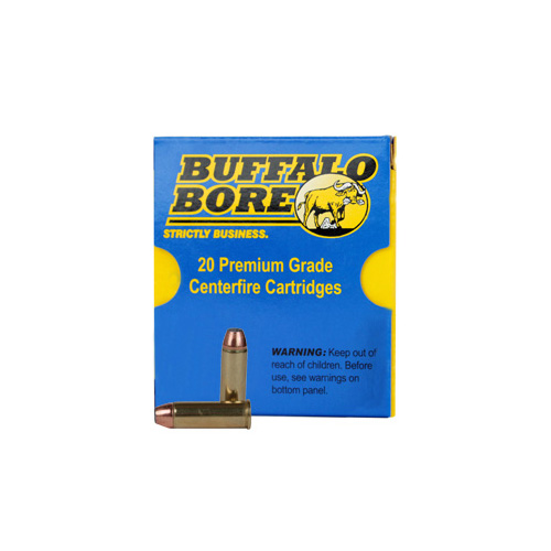 Buffalo Bore Ammo 4C|20 Handgun 44 Rem Mag Jacketed FN 270 GR 20Box|12Case