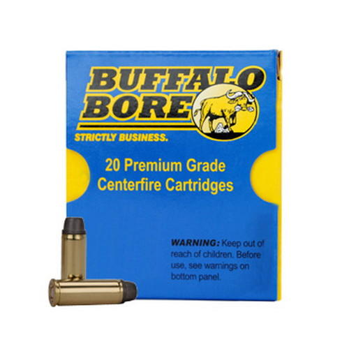 Buffalo Bore Ammo 7C|20 Handgun 454 Casull Lead Wide Nose 360GR 20Box|12Case