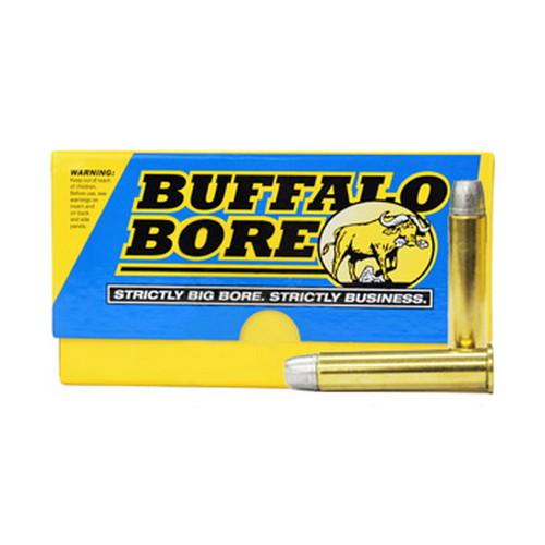 Buffalo Bore 8A 20 Rifle 45-70 Gov Hard Cast Lead Flat Nose 430GR 20Box 12Case