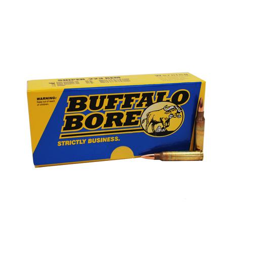 Buffalo Bore Ammo S22369 Rifle 223 Rem 5.56 Nato BTHP 69 GR 20Box 12Case
