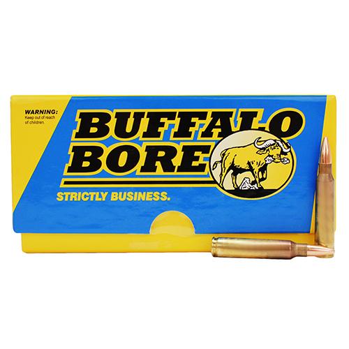Buffalo Bore Ammo S22377 Rifle 223 Rem 5.56 Nato BTHP 77 GR 20Box 12Case