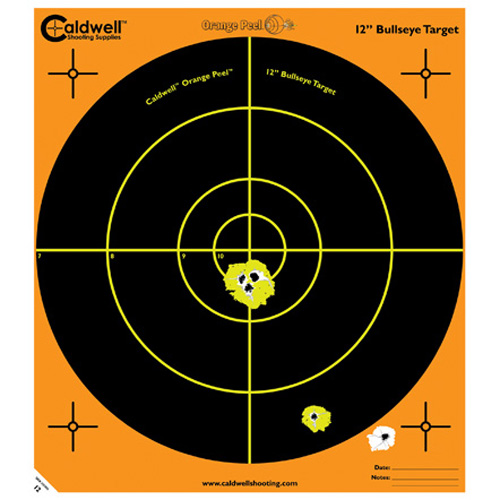 Caldwell Peel 12-inch Bulls-eye: 100 sheets