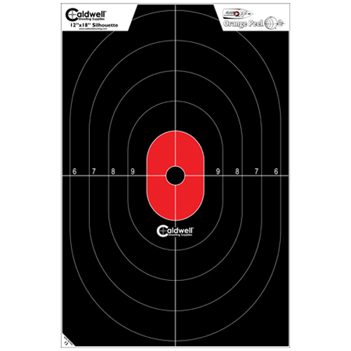 Caldwell Silhouette Center Mass Target 25 Pack