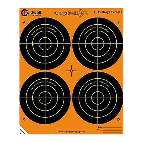Caldwell Orange Peel 4 in.  bulls-eye: 5 sheets