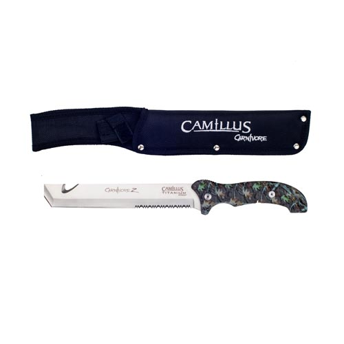 Camillus Cutlery Company 13&quot Titanium Bonded Carnivore Z Machete