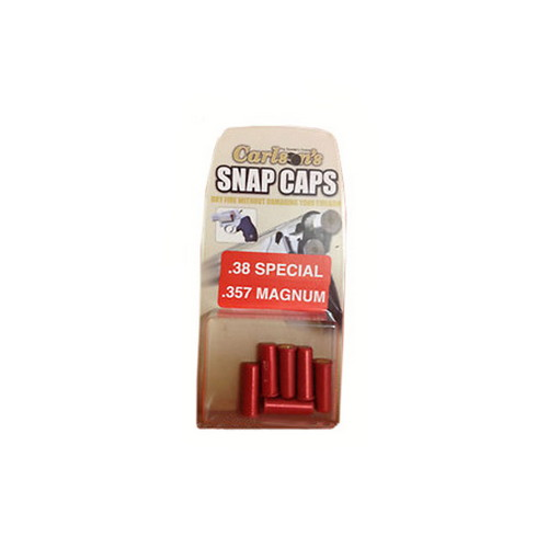 Carlsons 00057 Snap Cap Pistol 38 Special 6 Pack