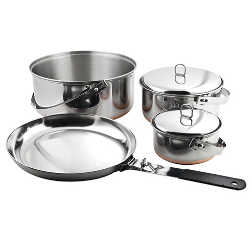 Chinook Camp Cookset