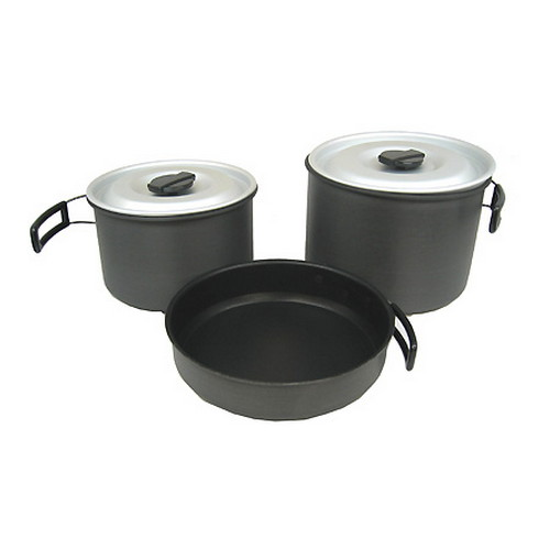Chinook Hard Anodized Cookset XL
