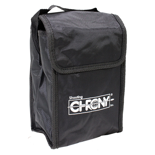 Shooting Chrony Accessory Case Textured Simulated Leather