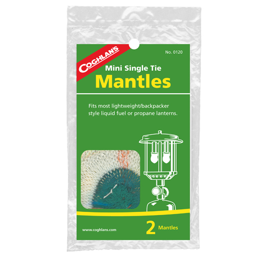 Coghlans 0120 Mantle Replacements Mini Single Tie (Per 2)