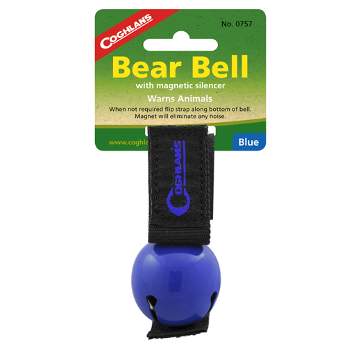 Coghlans 0757 Bear Bell Magnetic, Blue