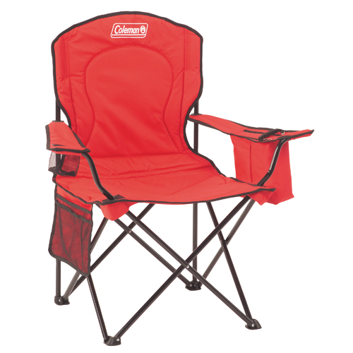 Coleman 2000032009 Chair Quad Cooler, Red