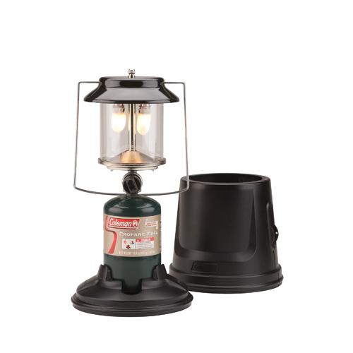 Coleman Portable Propane Lantern 2 Mantle MI w|Case