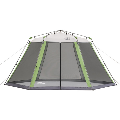 Coleman 15' x 13' Screened Canopy Grey|Medium Green - Tents And Tarps, Screen Houses at Academy Sports