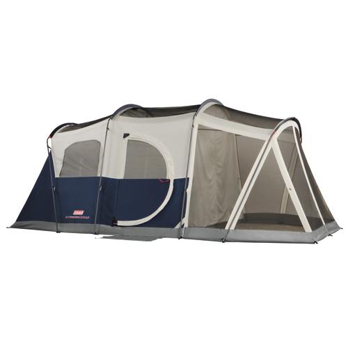 Coleman Weathermaster Tent 17' x 9' Elite, 6 Person, w|LED