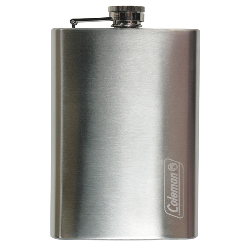 Coleman Flask 8 oz, Stainless