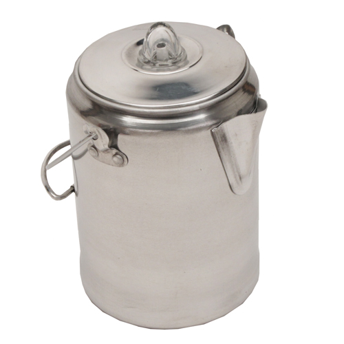 Coleman Coffee Pot 9 Cup Aluminum
