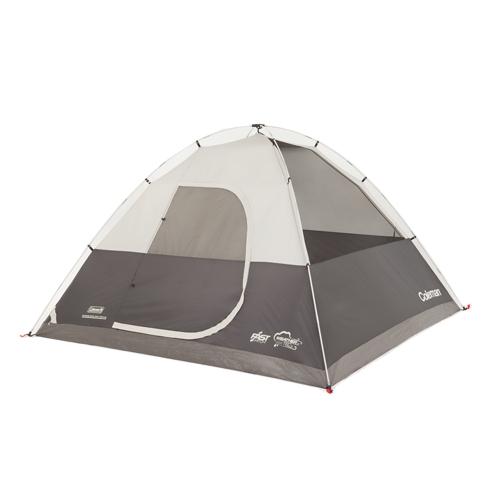 Coleman Morain Gray Orange 1-door Tent 10x10