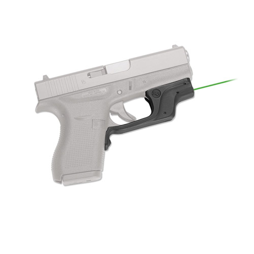 Crimson Trace Laserguard Green Laser for Glock 42 and 43