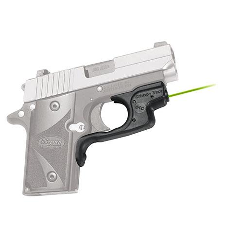 Crimson Trace LG492G Laserguard  Green Laser Sig P238|P938 Trigger Guard Black