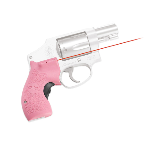 Crimson Trace J-Frame Round Butt Laser Grip FA-PINK-BP