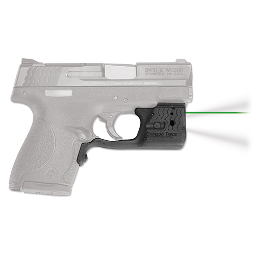 Crimson Trace LL801G Laserguard Pro  Green Laser S&W M&P Shield Trigger Guard Black