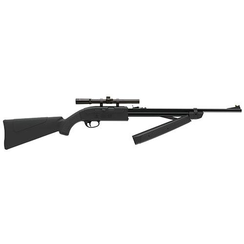 Crosman CLGY1000KT Legacy 1000 Air Rifle Bolt .177 Pellet|BB Black