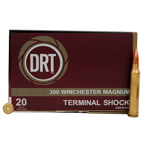 Dynamic Research Technologies 300WINMAG 300 Winchester Magnum 200 gr BTHP Frangible (Per 20)
