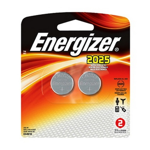 Energizer Coin #2025 3Volt (2-pack)