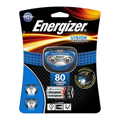 Energizer Vision Headlamp HD LED, 80 Lumens