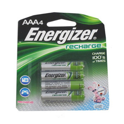Energizer Rechargeable AAA (Per 4)