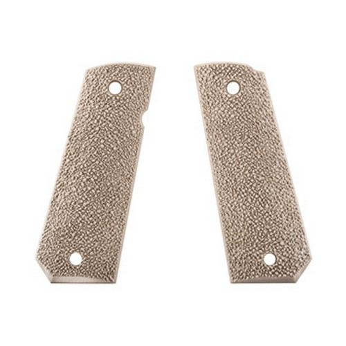 Ergo 1911 Grip Hard Rubber 2pc FDE