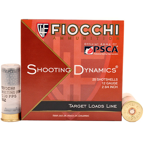 Fiocchi Ammo ShootingDynamics 12ga 2.75 in.  7.5sh 1oz/25