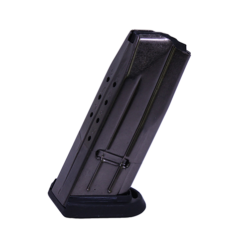 FN 6647821 FNS-9C Magazine 9mm Luger 10 rd FNS-9 Compact Silver Body|Black Base