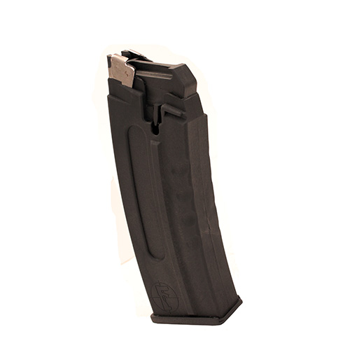 FosTech Outdoors ORIGIN-12 Magazine 12 Gauge 3 Inch 8 Rounds Bolt Hold Open Non-Rocking Polymer Black