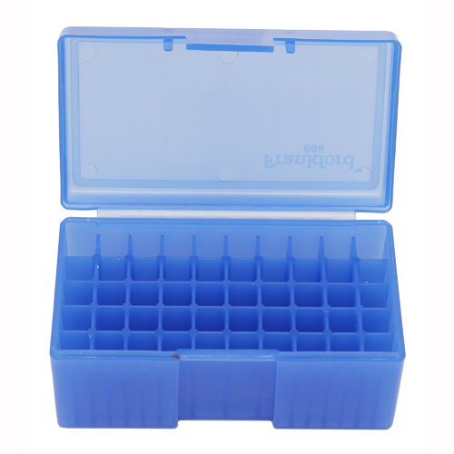 Frankford Arsenal 22 Hornet30 M1 50ct. Ammo Box Blue