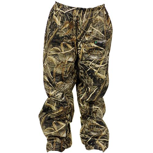 Frogg Toggs Pro Action Camo Pants Extra Large Realtree MAX-5