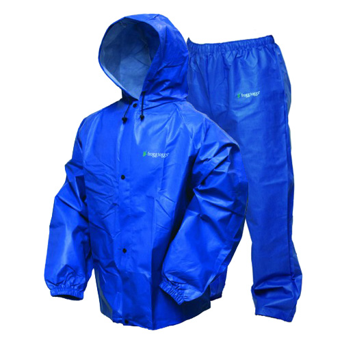 Frogg Toggs Pro-Lite Rain Suit Royal Blue Small Medium