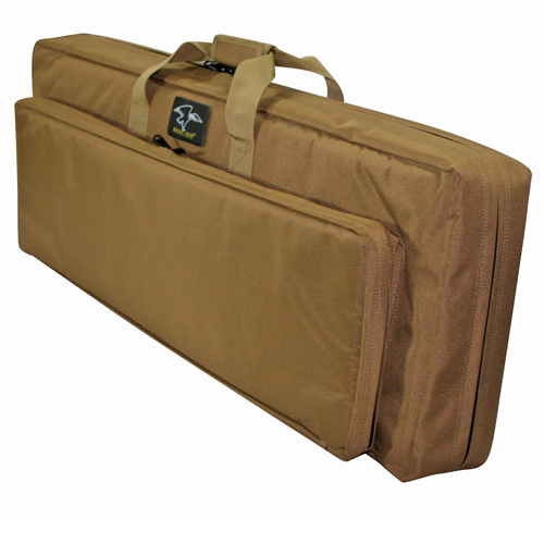 Galati Gear 38 in.  Discreet Dbl Square Case Coyote Brown