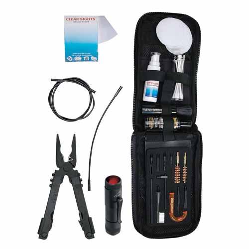 Gerber Blades Gun Cleaning Kit, Pistol, Sheath, Box