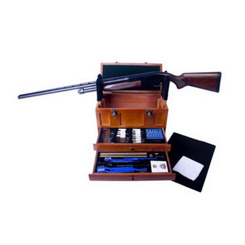 GunMaster Wooden Toolbox w|63 Pc US GCK