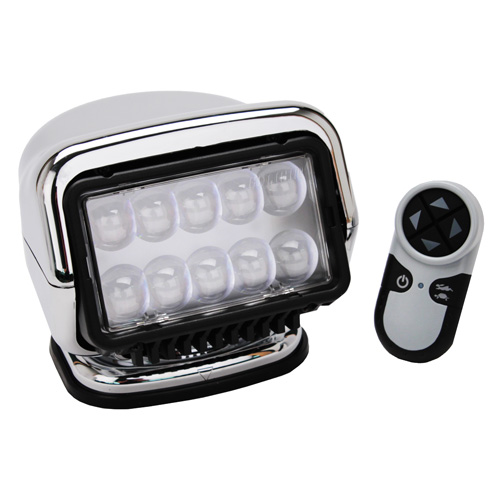 GoLight LED Stryker Wireless Hndhld Remote-Chrome
