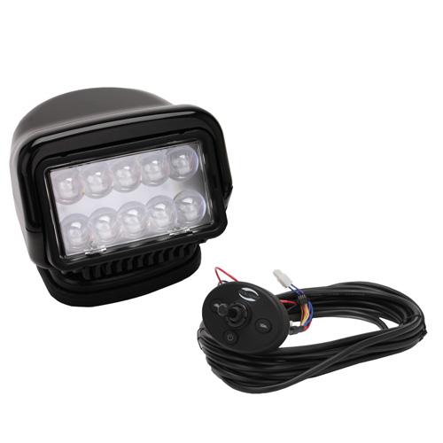 GoLight LED Stryker Wired Dash Remote - Black