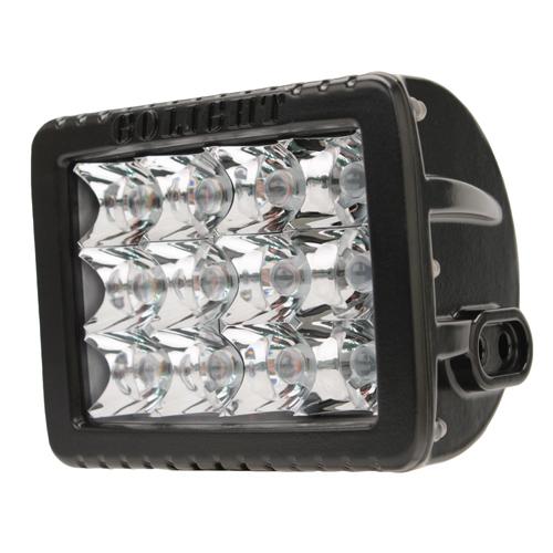 GoLight Gxl LED Spotlight - Fixed Mount-Black