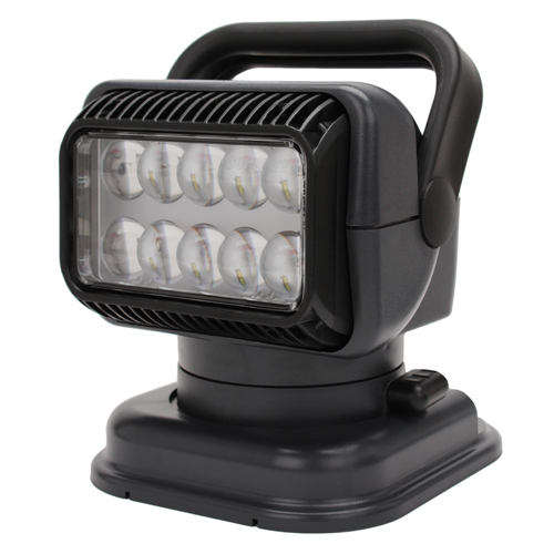 GoLight LED Portable Golight W/Wired Rmt-Charcole