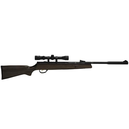 Hatsan 95 Vortex Quiet Energy Break Barrel Air Gun Rifle Combo Black .25 air 17.70 inch 1rd Includes 3-9X32mm Optma scope