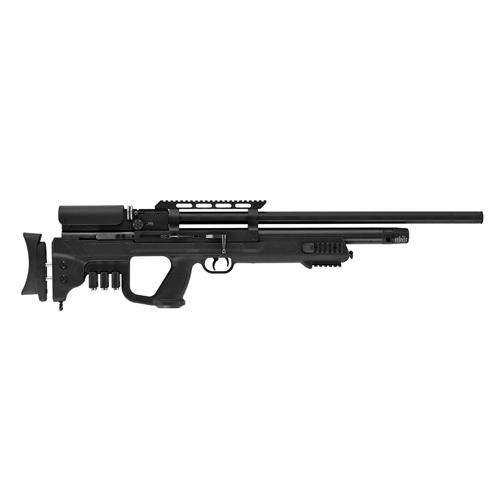 Hatsan Gladius Long PCP Air Rifle .25 Caliber, 23&quot Barrel, 9 Rounds, Black Synt